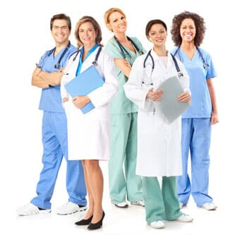 Uniforms for doctors and nurses