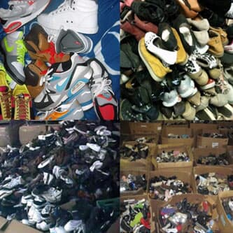 Wholesale of Returned Mix Shoes
